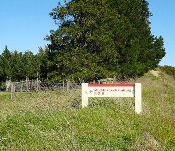Muddy Creek Cutting Sign